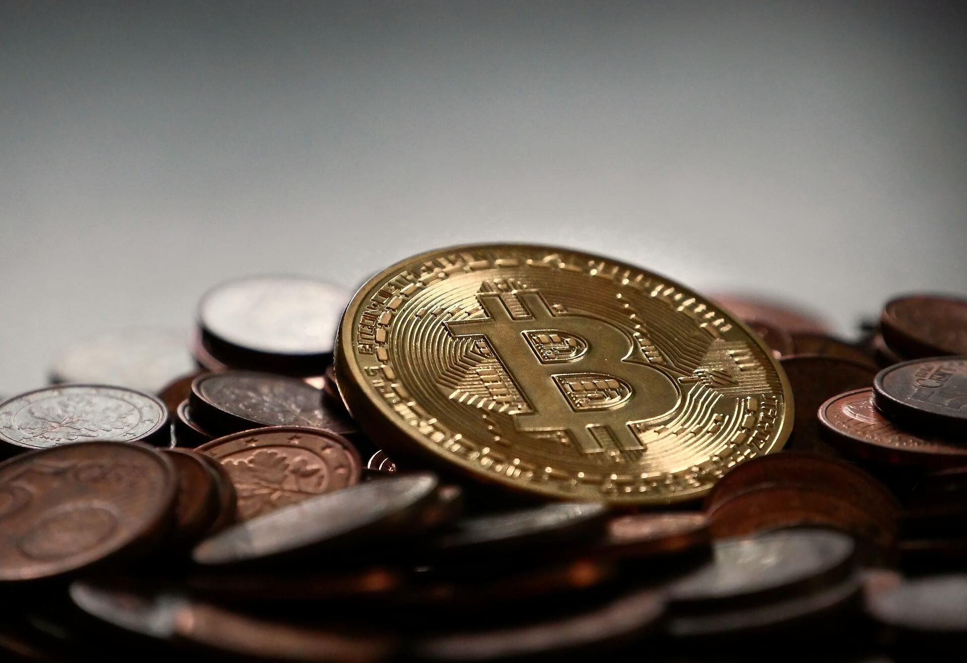bitkoinai veda