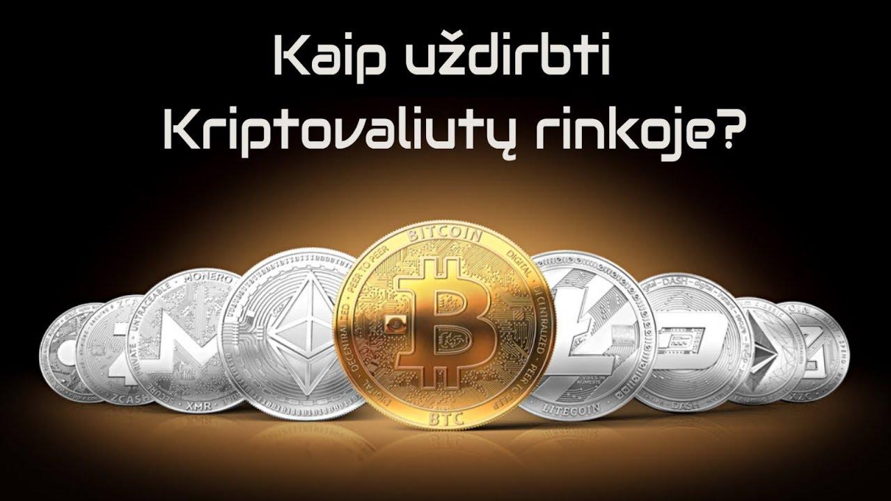 Kodėl Verta Investuoti į Kriptovaliutas? Kokią kriptovaliutą galiu uždirbti