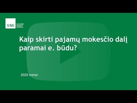 interneto pajamos 2020 m