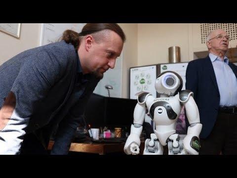 pasirenkama robotų panda