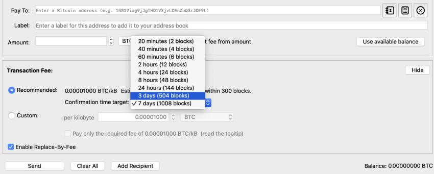satoshi per byte to btc/ kb