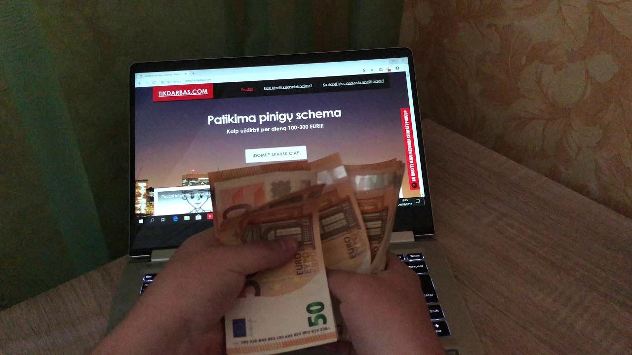 kaip užsidirbti pinigų išimant pinigus