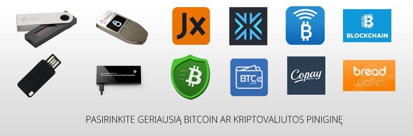 bitcoin pinigine patikima kas yra variantas