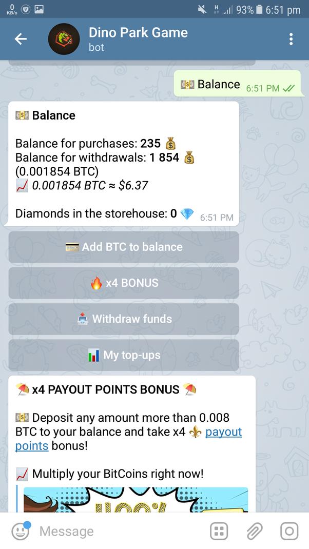 bot bitcoin telegram legit