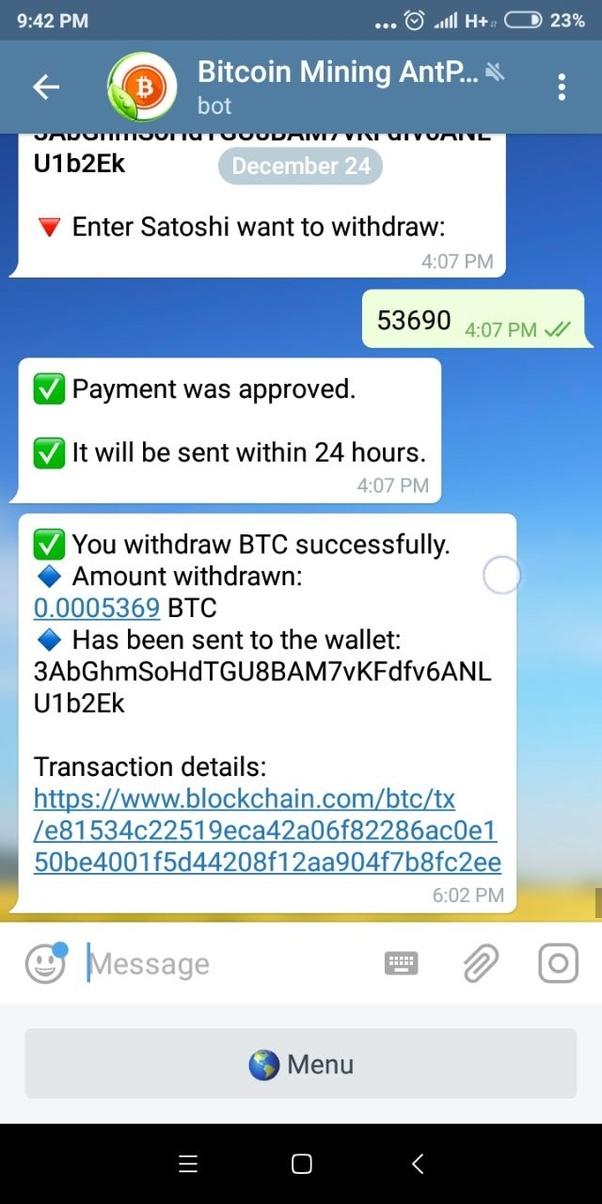 telegram free crypto bot dvejetainių parinkčių strategijos 60 sekundžių q optonas